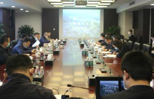 """天府奥体公园按下""""快进键"""",集团党委书记、董事长郑尚钦强调......"""