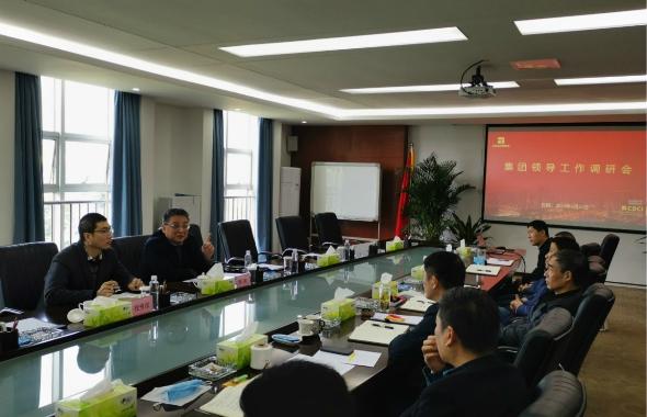 集团副总经理高竑赴土地公司召开调研座谈会