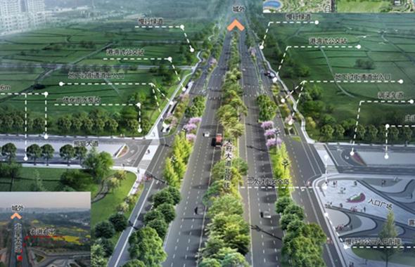 注意了!天府大道北延线三环路至新水碾路段交通将有优化调整