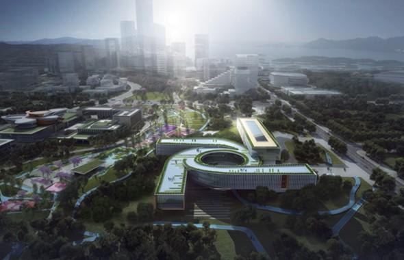 东部新区创意产业园区建设取得阶段性成果!